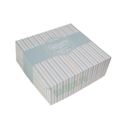 Cutii prajituri Patisserie 25x25x8 (70buc)