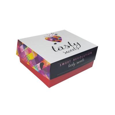 Cutii prajituri Tasty Sweets 17x13x8 (170buc)