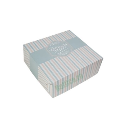 Cutii prajituri Patisserie 19x19x8 (120buc)