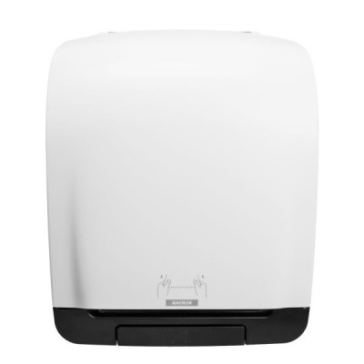 Dispenser role prosop - Katrin System Towel alb