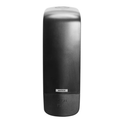 Dispenser de sapun lichid si spuma - Katrin Inclusive negru - 1000 ml