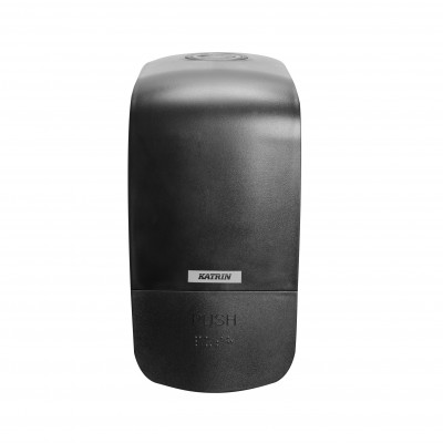Dispenser de sapun lichid si spuma - Katrin Inclusive negru - 500 ml
