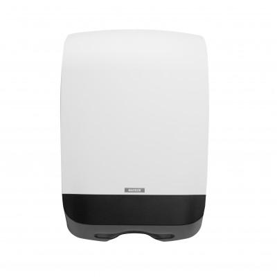 Dispenser prosoape pliate tip Z / tip V - Katrin Inclusive M alb