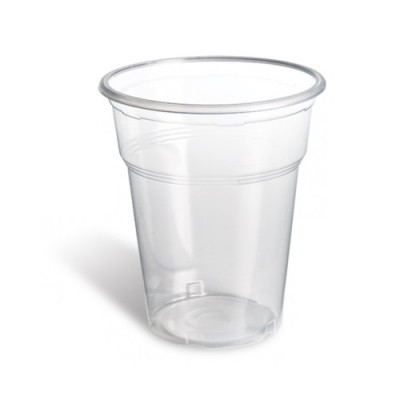 Pahare plastic 350ml (50buc)