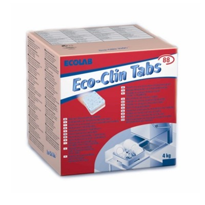 Detergent Pastile pentru masinile de spalat vase 4kg Ecolab ECOCLIN (200 buc/cut)
