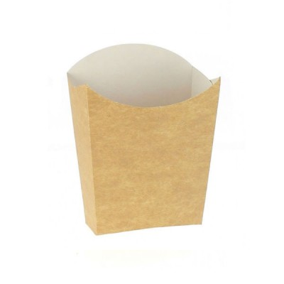 Cutii pentru cartofi medii carton kraft natur (1800buc/bax)