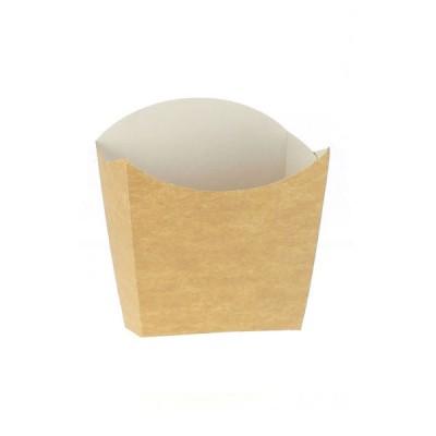 Cutii pentru cartofi mici carton kraft natur (3220buc/bax)
