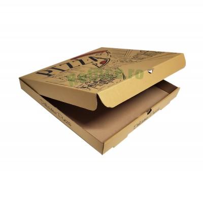 Cutii pizza URBAN nature 32 cm (100 buc/bax)