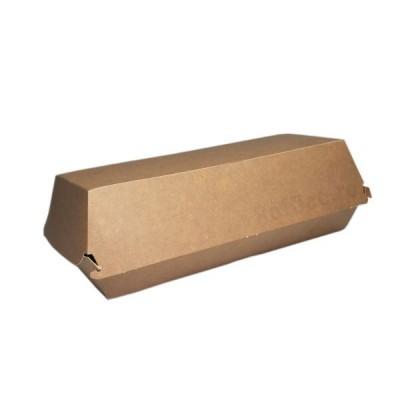 Cutii meniu panini kraft nature 195x75x65 mm (200buc/bax)