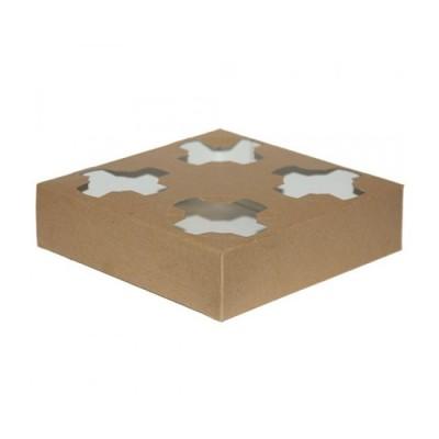 Suport din carton pentru 4 pahare (100buc/set)