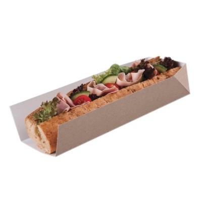 Baghete (tavite) din carton kraft natur 25x8x5 (500buc/set)