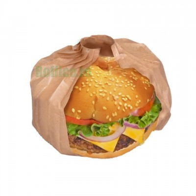 Hartie tip evantai pentru burger si sandwichi Kraft Nature (500buc)
