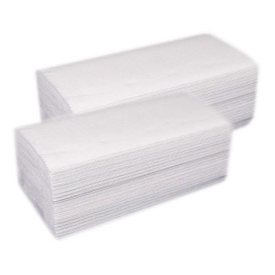 Servetele dispensere V albe (2 straturi) 150 foi/pac (20pac/bax)