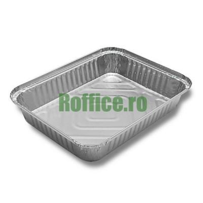 Caserole aluminiu S729. 218x170, 1125 cc (100 buc/set)