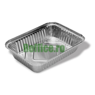 Caserole aluminiu S784. 218x155, 930 cc (100 buc/set)