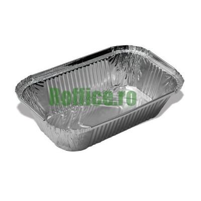 Caserole aluminiu S843, 200x125, 700 cc (1.000 buc/bax)