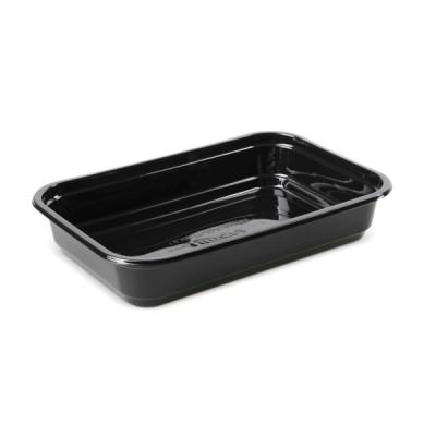 Caserole Negre din plastic LIMERA 500cc, 138x205x36