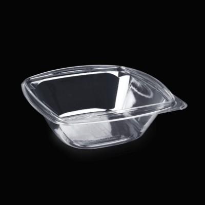 Caserole patrate transparente LIMERA pentru salate 1000 cc (50buc/set)