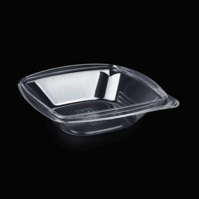Caserole patrate transparente LIMERA pentru salate 750 cc (50buc/set)