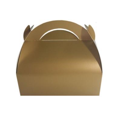 Cutii prajituri (marturii) aurii (100buc)