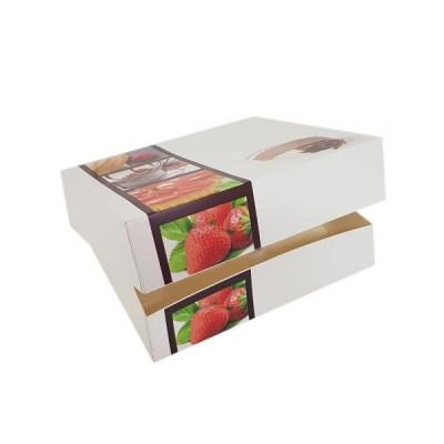 Cutii fursecuri si prajituri - 25x25x8 (25buc)