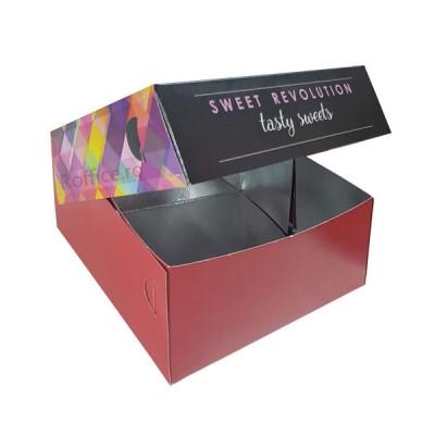 Cutii prajituri Tasty Sweets 30x30x10 (40buc)